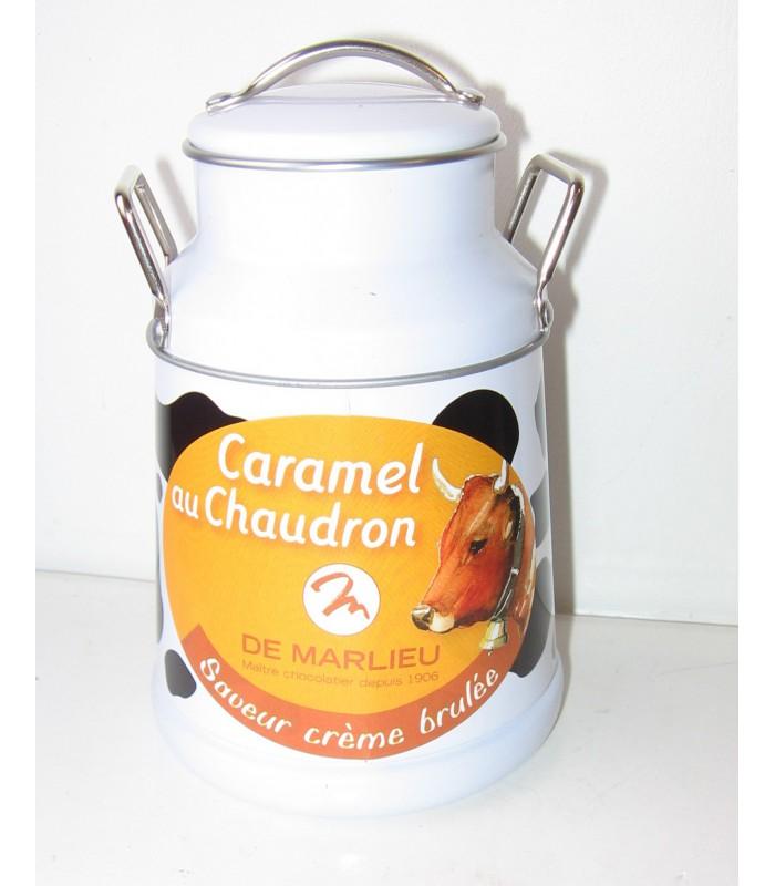 Caramels saveur crème brûlée (pot)